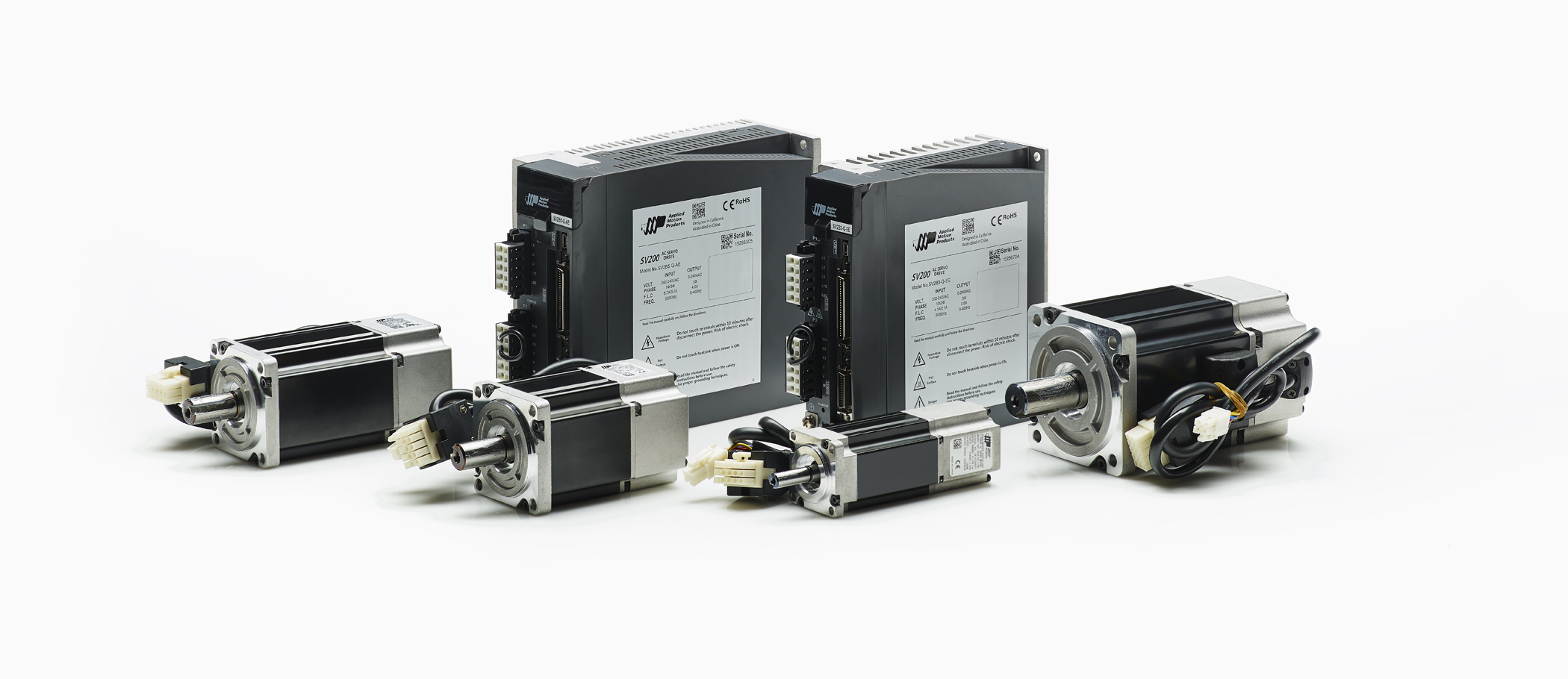 Applied motion products new sv200 series digital servo drives for Advanced dc motors inc