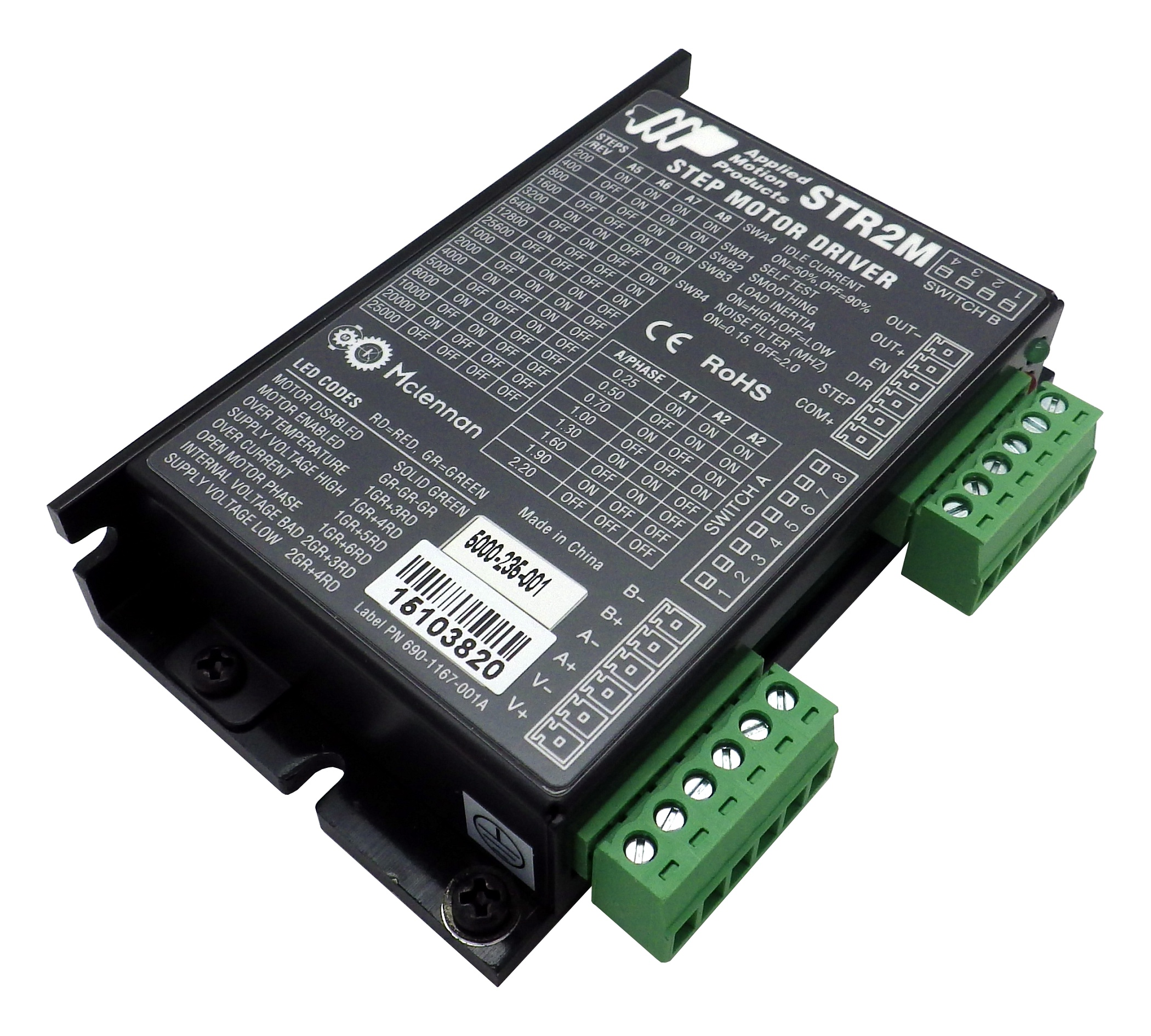 Str2m Dc Advanced Microstep Drive