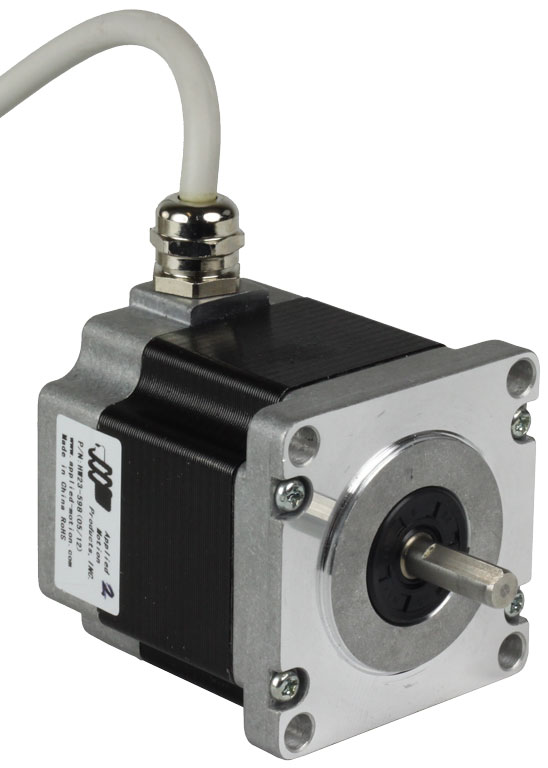 hw23 series ip65 rated nema 23 high torque step motors
