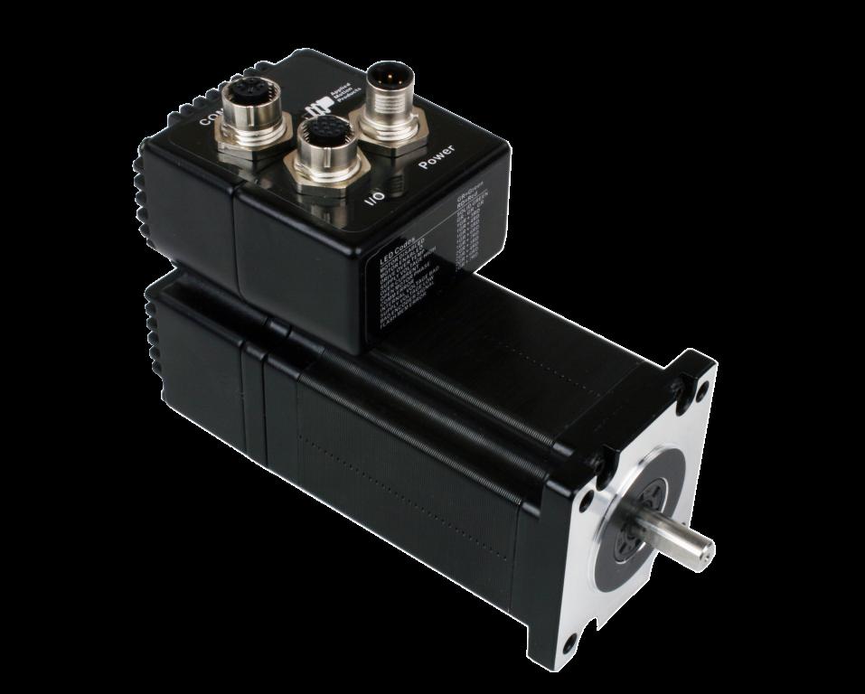 Swm24q 3ee ip65 rated nema 24 integrated stepper for 24 volt servo motor